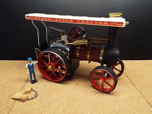 VINTAGE MAMOD STEAM TRACTOR TE1A WITH BOX NEVER RUN