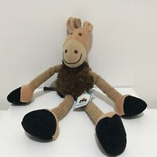 Jellycat I Am Gangly Horse Cordroy Plush Soft Toy Rare Retired