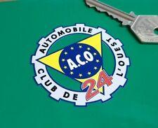 "ACO LeMans 24 Classic Car Sticker 2.5"" Automobile Club l'Ouest France French"