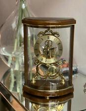 London Clock Company Skeleton Wooden Mantel Clock 07066