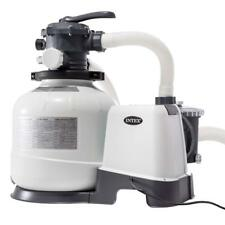 Pompa filtro a sabbia 26648 Intex 10.500 l/h per piscina fuori terra 28648 Rotex