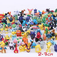 24PCS/Set Mini Mixed 2-3cm Pokemon Go Monster Random Pearl Figures Toy Kit Gift
