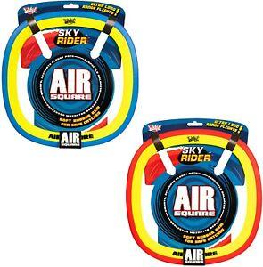 Sky Rider Air Square Junior Outdoor Frisbee (1 x random colour supplied) *NEW*