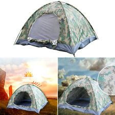 Waterproof Pop Up Tent Outdoor Camouflage UV Protection Camping Tent 3-4 People