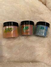 3 Pack SNS Gelous Color Dipping Powder New (Read Description)