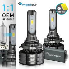 New Syneticusa HB4 9006 LED Headlight Fog Light Bulbs Kit Low Beam 6000k White