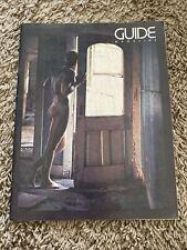 Vintage 80s Homosexual Guide Magazine Denver CO 1984 Ads LGBTQ
