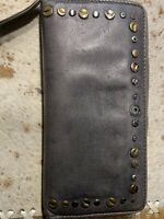 Damen Geldbörse Taschendieb grau  Gr. 20x10,5cm Clutch-  Gebraucht aber Top