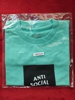 """NEW"" Anti Social Social Club The Club Seafoam Blue MENS M SHIPS FAST"