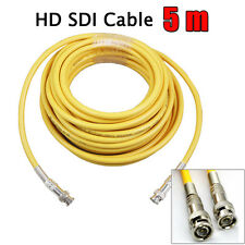 5M 75-5 HD SDI Digital Video BNC Male to Male Coaxial Cable DVR Broadcasting