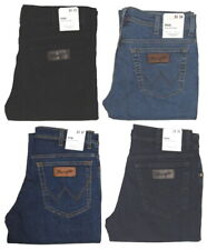 Wrangler Jeans Texas Stretch blau schwarz blue-black dunkel 1. oder 2.Wahl Ware