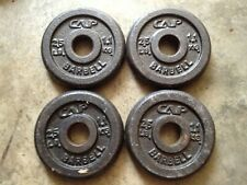 """Barbell 2.5 LB 1.1 KG 1"""" Weight Plates (SET x 4) Dumbbell Standard FREE SHIPPING"""