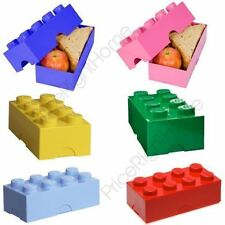 Lego Tupperware Lunch Boxes