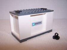 LEGO ® ferrovia Maersk container 1 per 3677, 7898, 7939, 60052-NUOVO