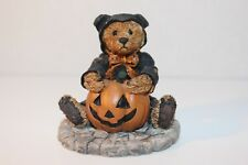 Boyds Bears & Friends - Moriarity-The Bear in the Cat Suit (Halloween)