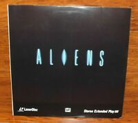 Aliens (2-Disc Extended Play Laser-Discs) Sigourney Weaver & Carrie Henn Rated R