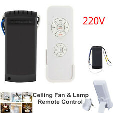 220V Ceiling Fan LED Light Lamp Timing Wireless Remote Control & Receiver Kit AU