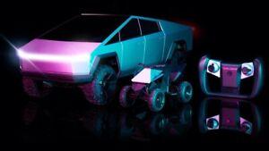 Hot Wheels 1:10 R/C Tesla Cybertruck With Cyberquad- (ORDER CONFIRMED)