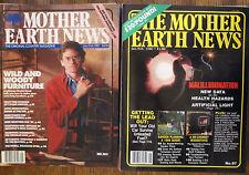 1986/1987 The Mother Earth News Collection Raising Livestock Draft Team Organic