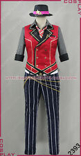 Ensemble Stars Isara Mao Haloween Uniform Suit Outfit Cosplay Costume S002