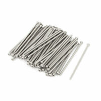 M3 x 80mm 304 Stainless Steel Crosshead Phillips Pan Head Screws Bolt 60pcs