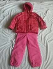 EUC ski snow boarding suit,H&M Chiboogi jacket,pink Obermeyer bib pants,girl 6-8