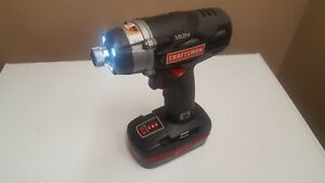RARE Craftsman C3 1/4 INCH IMPACT3-Speed Impact  315.id2025 19.2V --TOOL ONLY-