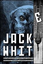 Jack White Stripes Poster 2015 MSG New York NY Signed & Numbered #/350 Rob Jones