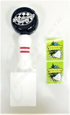 SKA Brewing Company Bowling Pin & Ball Beer Tap Handle with 2 Mexican Logger