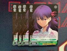 Weiss Schwarz Promo cards EGOISTIC Sakura english x4