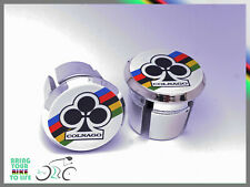Colnago club world champion Plugs Caps Tapones bouchons lenker vintage style