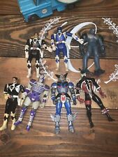 Power Rangers Action Figure Lot 1994, 1995, Bandi Lot Of 7