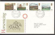 Go 1979 FDC l'hippodrome peintures bureau d'Édimbourg timbres poste