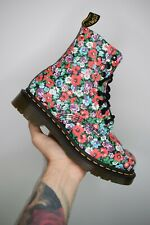 Dr Martens PASCAL Black Wildpoppy Floral Size UK 4 EU 37 US 6 Brand New In Box