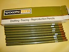 DIXON DRAFTING TRACING REPRODUCTION PENCILS 8 IN BOX