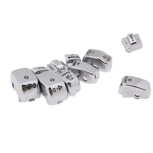 Set Chrome Hand Control Switch Housing Button Cap Kit For Harley Before 2013