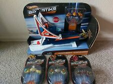 Hot Wheels Ballistiks Combat Cannon with 3 Extra Cars