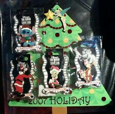 Disney MOC 2007 Holiday DSF Christmas Tree Collection Tinker Bell 5 Pin Set