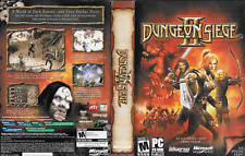Dungeon Siege II  Fantasy RPG with Book & Product Key PC CD ROM 2005