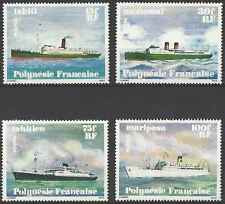 Timbres Bateaux Polynésie 124/7 ** lot 12059