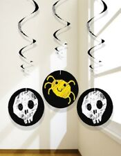 Halloween Hanging Decoration Cute Spider Skull Pumpkin 3 pack FREE 1st class P&P