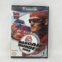 NASCAR Thunder 2003 (Nintendo GameCube, 2002) No Manual Tested & Working
