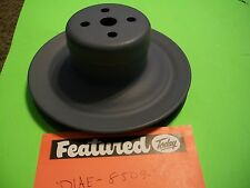 69-71 FORD Mustang Boss 302 351 1 Groove Water Pump Pulley D1AE-8509-BA #136