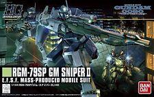 BANDAI HGUC 1/144 RGM-79SP GM SNIPER II Plastic Model Kit Gundam 0080 from Japan