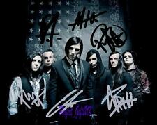 Motionless In White Band SIGNED AUTOGRAPHED 10X8 REPRO PHOTO PRINT chris