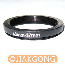 43mm-37mm 43-37 mm 43 to 37 Step Down Ring Adapter