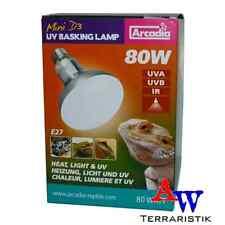 Arcadia Mini D3 UV Basking Lamp - 80W - UVA / UVB Strahler
