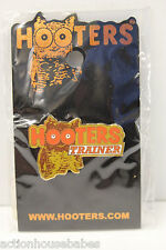 HOOTERS RESTAURANT COLLECTABLE GIRL WAITRESS STAFF TRAINER ENAMEL LAPEL PIN #2