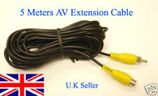 5M RCA AV Extension Cable for Reversing Parking Camera