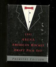 1991 Arena Hockey Dratf Pick 33-card Set (American Version)  Forsberg +++